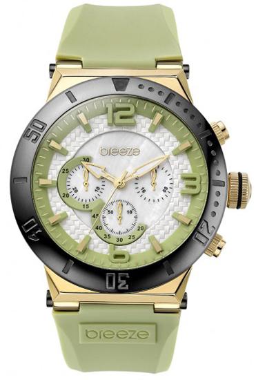 Πράσινο Ρολόι Breeze Collection 110111.8 Ατσάλι