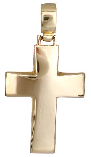 Σταυροί Βάπτισης - Αρραβώνα Σταυρός χρυσός 14 καράτια 011133 011133 Ανδρικό Χρυσός 14 Καράτια