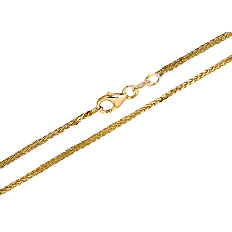 Δίχρωμη αλυσίδα 012054 Χρυσός 14 Καράτια