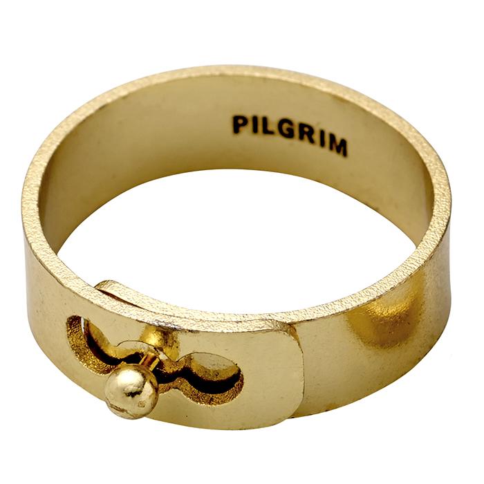 Επίχρυσο δαχτυλίδι Pilgrim 121712004 121712004 Ορείχαλκος fashion jewels pilgrim δαχτυλίδια