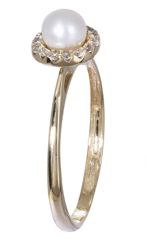 Χρυσό δαχτυλίδι 14K με Μαργαριτάρι 012391 012391 Χρυσός 14 Καράτια χρυσά κοσμήματα δαχτυλίδια με μαργαριτάρια και διάφορες πέτρες