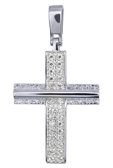 Σταυροί Βάπτισης - Αρραβώνα ΣΤΑΥΡΟΙ ΛΕΥΚΟΧΡΥΣΟΙ 016176 016176 Γυναικείο Χρυσός 14 Καράτια