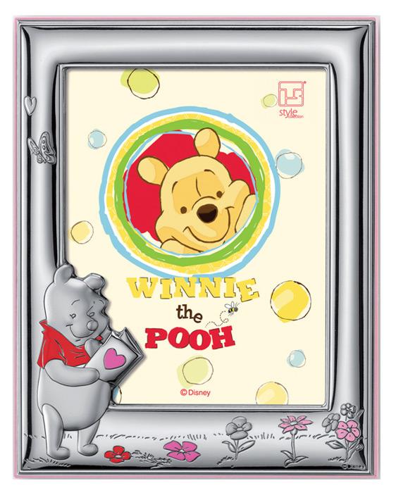 Παιδική κορνίζα για κορίτσι -Winnie- 018466 018466 Ασήμι προτάσεις δώρου ασημένιες κορνίζες