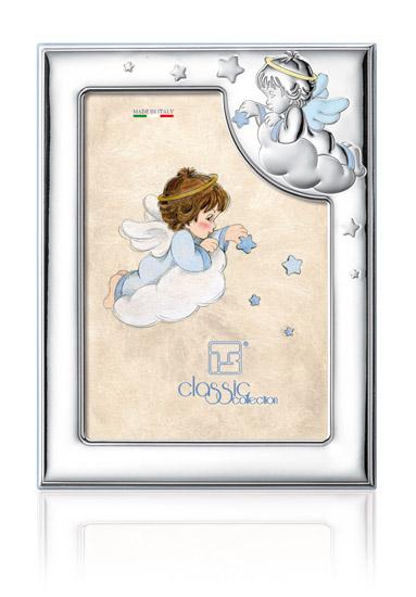 Παιδική κορνίζα για αγόρι 018467 018467 Ασήμι προτάσεις δώρου ασημένιες κορνίζες
