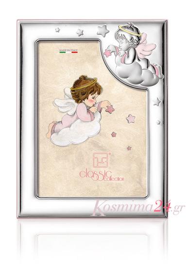 Παιδική κορνίζα για κορίτσι 018468 018468 Ασήμι προτάσεις δώρου ασημένιες κορνίζες
