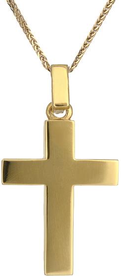 Βαπτιστικοί Σταυροί με Αλυσίδα Σταυρός για αγόρι Κ18 C018452 018452C Ανδρικό Χρυ σταυροί βάπτισης   γάμου βαπτιστικοί σταυροί με αλυσίδα