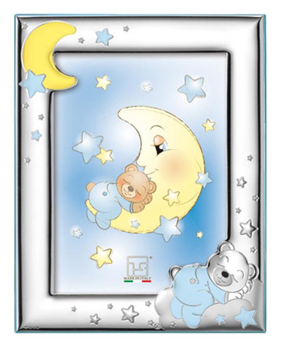 Παιδική κορνίζα για αγόρι 019696 019696 Ασήμι προτάσεις δώρου ασημένιες κορνίζες