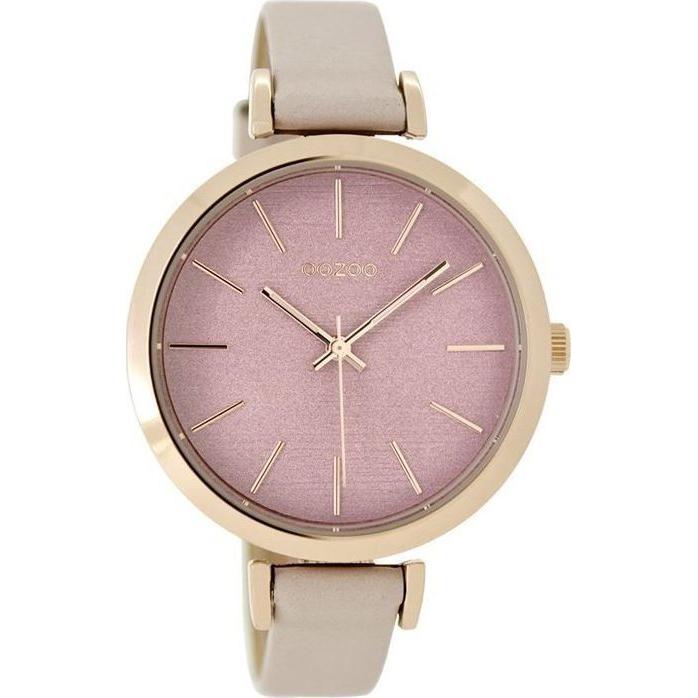 Ρολόι γυναικείο OOZOO Pink leather Strap C9136 C9136