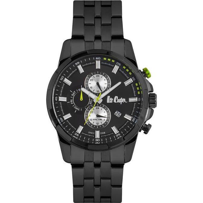 Ανδρικό ρολόι Lee Cooper Black Bracelet LC06653.660 LC06653.660