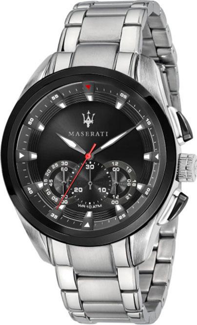 Ρολόι ανδρικό Traguardo Silver Stainless Steel Maserati R8873612015 R8873612015 Ατσάλι
