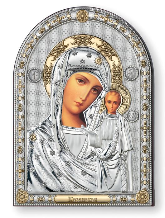 Ασημένια εικόνα Παναγία του Καζάν 019588 019588 Ασήμι προτάσεις δώρου ασημένιες εικόνες