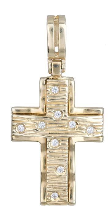 Σταυροί Βάπτισης - Αρραβώνα Χρυσός σταυρός 14K 002263 002263 Γυναικείο Χρυσός 14 Καράτια