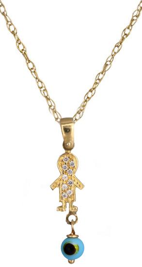 Χρυσό κολιέ 002430 002430 Χρυσός 14 Καράτια