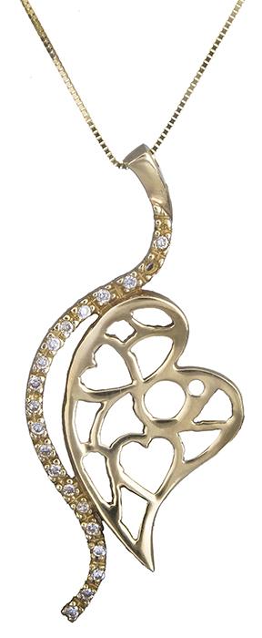 Χρυσή Καρδιά Κ14 000248 000248 Χρυσός 14 Καράτια