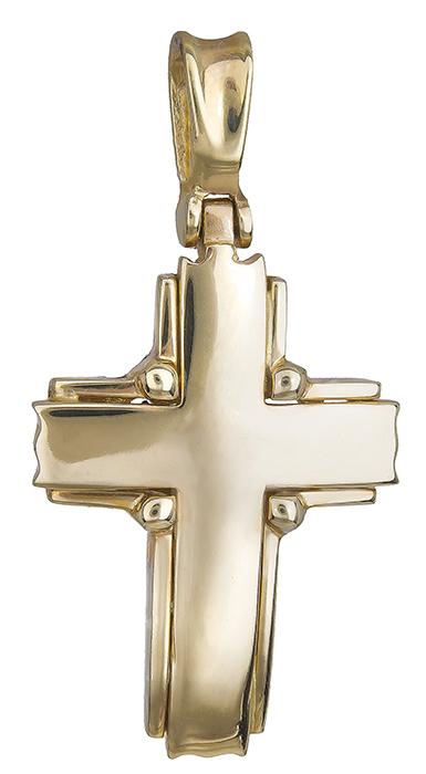 Σταυροί Βάπτισης - Αρραβώνα Σταυρός χρυσός 14 καράτια 002483 002483 Ανδρικό Χρυσός 14 Καράτια