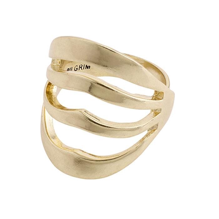 Pilgrim Bellona Gold Ring 272032014 272032014 Ορείχαλκος