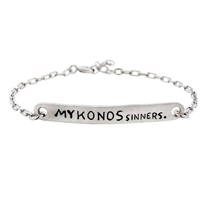 Bracelet Mykonos Sinners 925 SB106 SB106 Ασήμι