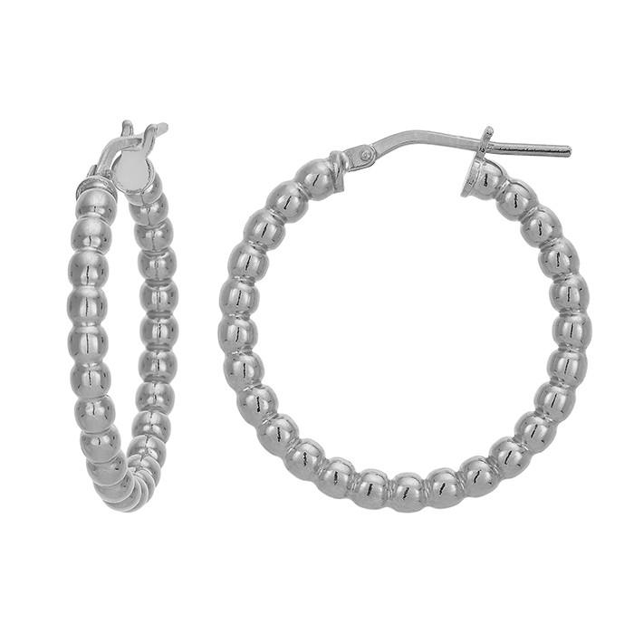 Γυναικεία ασημένια 925 σκουλαρίκια Vogue Bright Circles 3570203 3570203 Ασήμι