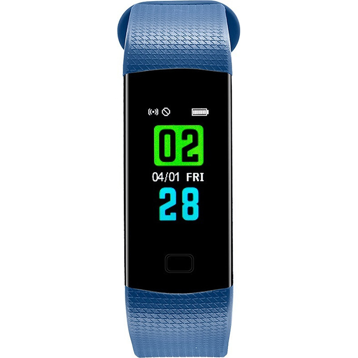 Activity Tracker Watch CN23 DAS.4 Blue Rubber Strap 50094 50094