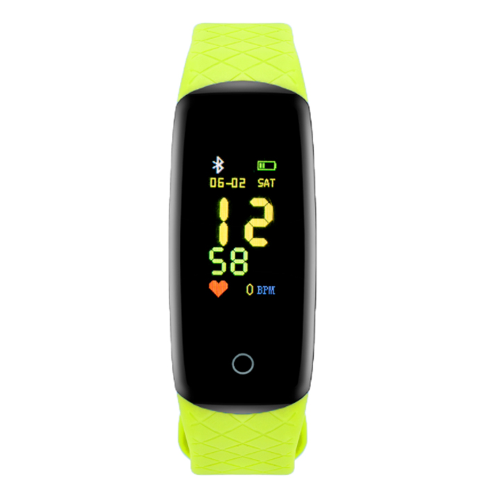 Activity Tracker Watch CN27 DAS.4 Green Rubber Strap 50115 50115