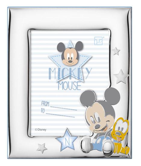 Ασημένια κορνίζα Mickey 018484 018484 Ασήμι