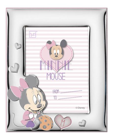 Παιδική κορνίζα Minnie 018487 018487 Ασήμι