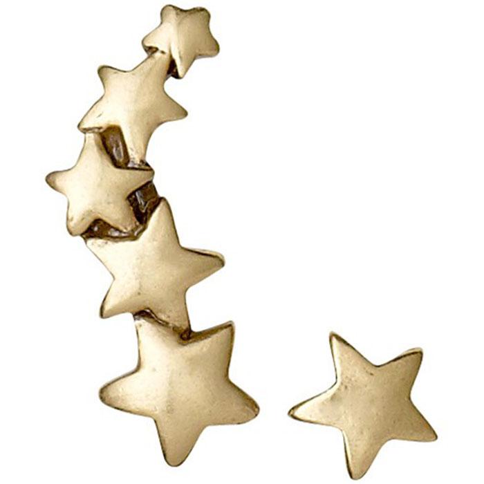 Σκουλαρίκια αστέρια Pilgrim 601312053 601312053 Ορείχαλκος fashion jewels pilgrim σκουλαρίκια