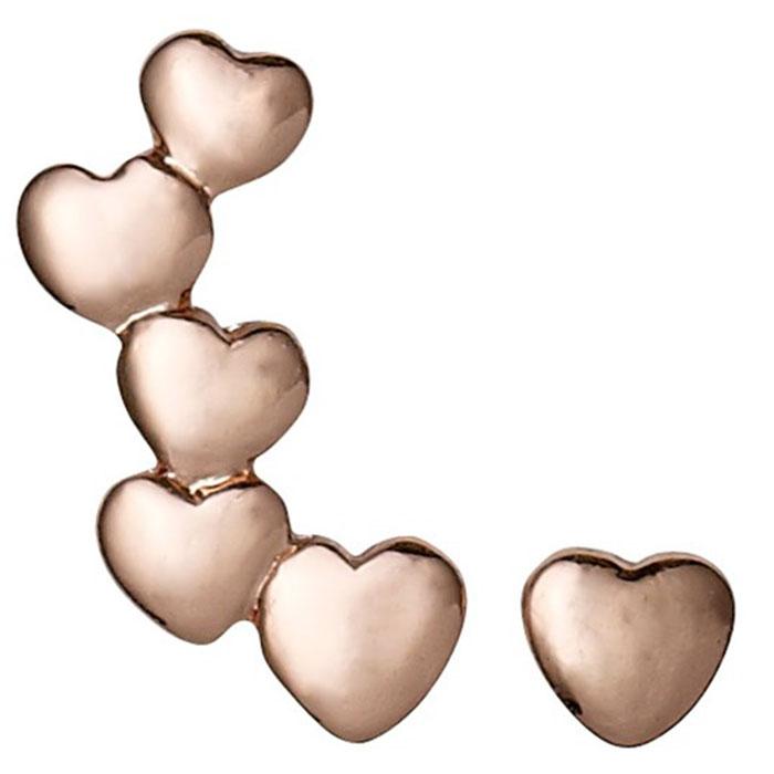 Σκουλαρίκια καρδούλες Pilgrim 601314033 601314033 Ορείχαλκος fashion jewels pilgrim σκουλαρίκια