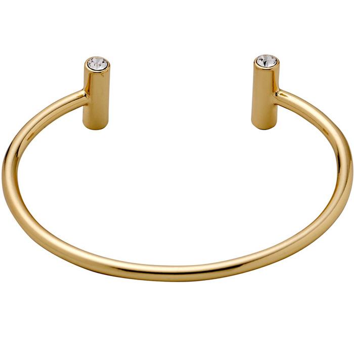 Επίχρυσο βραχιόλι χειροπέδα Emma 601712012 601712012 Ορείχαλκος fashion jewels pilgrim βραχιόλια   χειροπέδες