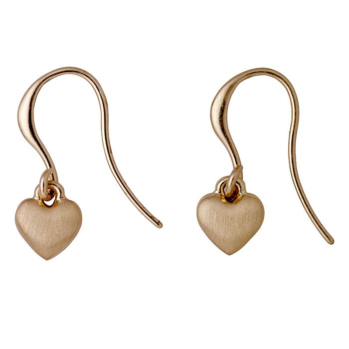 Σκουλαρίκια καρδούλες Pilgrim 601714073 601714073 Ορείχαλκος fashion jewels pilgrim σκουλαρίκια