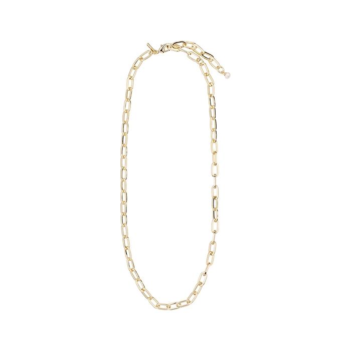Κολιέ Pilgrim Bibi αλυσίδα με μαργαριτάρι 632032001 632032001 Ορείχαλκος