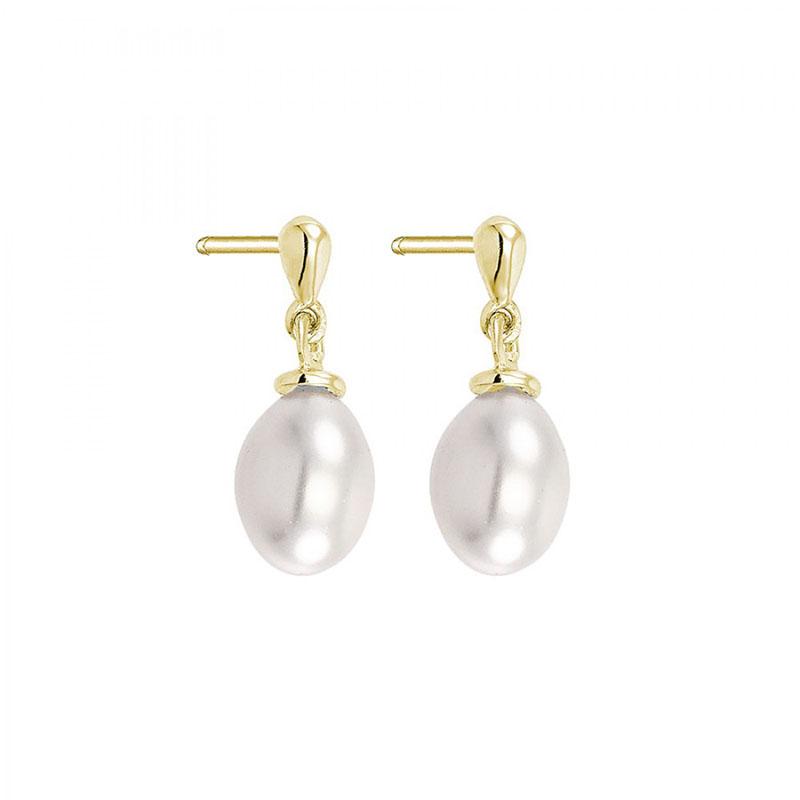 Γυναικεία σκουλαρίκια Vogue White Pearls 925 7153241 7153241 Ασήμι