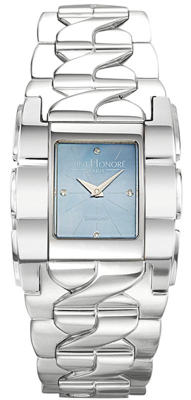 Γυναικείο ρολόι saint honore ασημένιο 7171501YN4D 7171501YN4D Ατσάλι