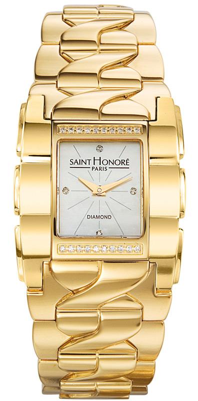 Γυναικείο ρολόι επίχρυσο saint honore 7171513YB4D 7171513YB4D Ατσάλι