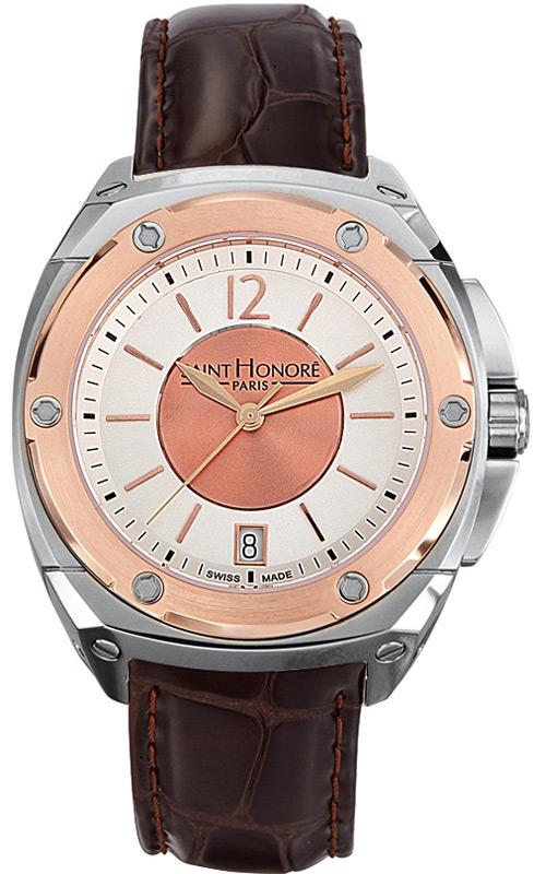 Saint Honore ανδρικό ρολόι 7660756ARIR 7660756ARIR Ατσάλι