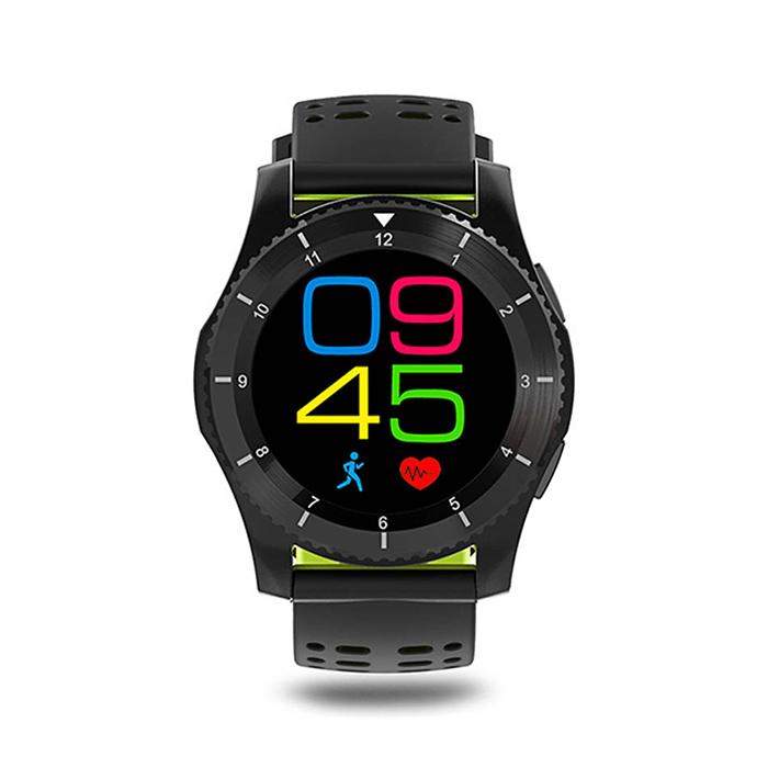 DAS.4 SG10 Black / Green Smartwatch 80019 80019