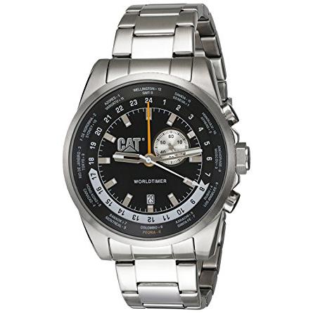 Αντρικό ρολόι Caterpillar WorldTimer Bracelet WT14511122 WT14511122