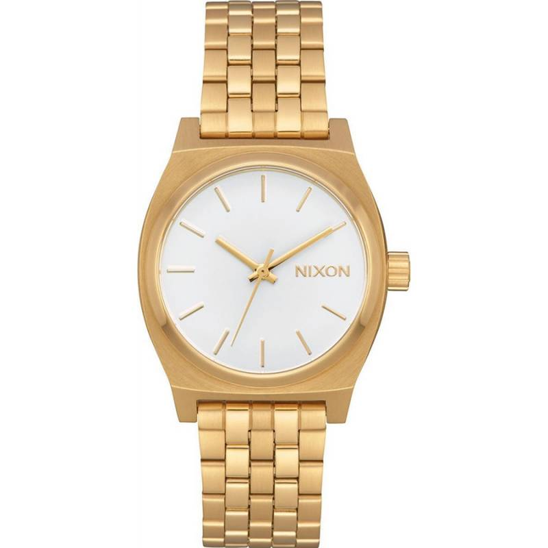 Nixon The ime Teller Gold Stainless Steel Bracelet A1130-504-00 A1130-504-00