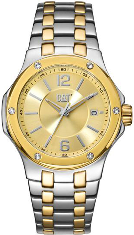 Caterpillar Navigo Lady Two Tone Stainless Steel Bracelet A138113832 A138113832 Ατσάλι