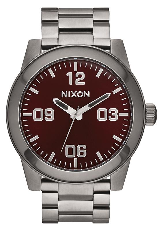 Ρολόι αντρικό Nixon Corporal Stainless Stell Bracelet A346-2073-00 A346-2073-00 Ατσάλι