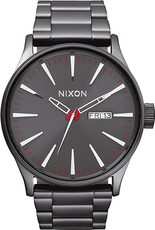Nixon Sentry Gun Metal Stainless Steel Bracelet A356-131-00 A356-131-00