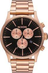 Ρολόι Nixon Rose Gold Sentry Chrono A386-1932-00 A386-1932-00 Ατσάλι