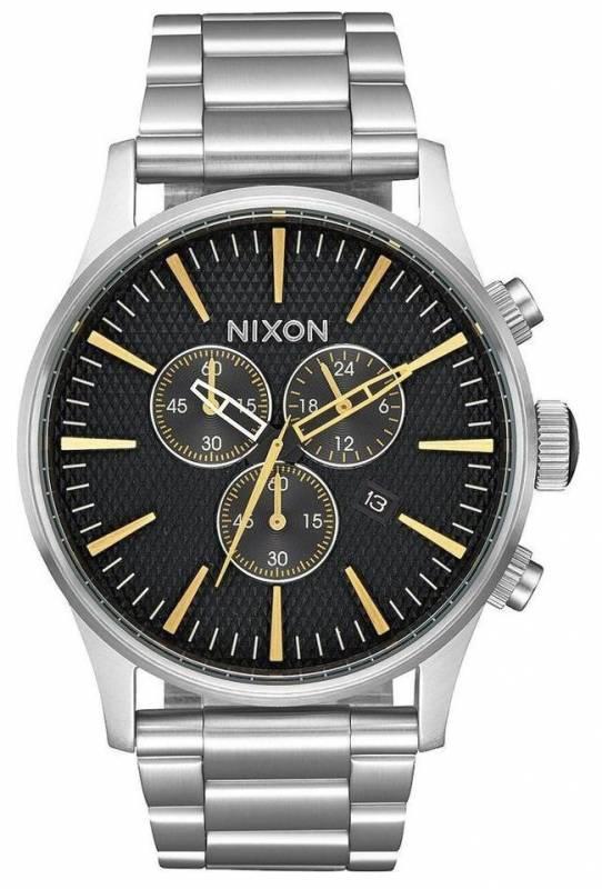 Ανδρικό ρολόι Nixon Sentry Chrono A386-2730-00 A386-2730-00 Ατσάλι