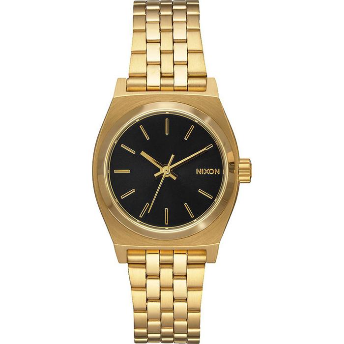 Ρολόι Nixon Small Time Τeller Gold Bracelet A399-513-00 A399-513-00 Ατσάλι