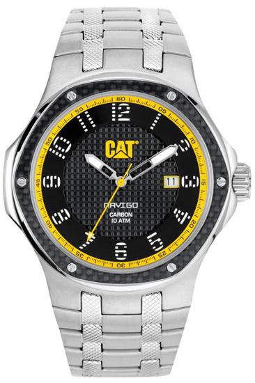 Caterpillar ανδρικό ρολόι A514111111 A514111111 Ατσάλι