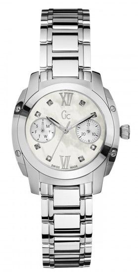 Ανοξείδωτο Γυναικείο Ρολόι GC με Διαμάντια A58101L1 Ατσάλι