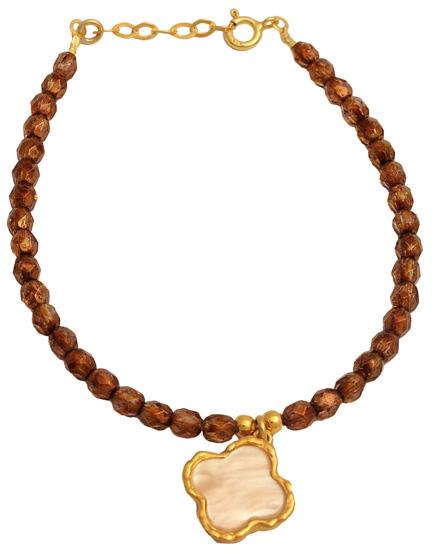 Επίχρυσο ασημένιο βραχιόλι 925 ASB451A Ασήμι ασημένια κοσμήματα βραχιόλια