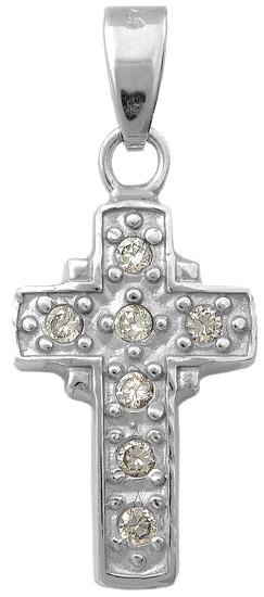 Σταυρός ασημένιος 925 ASC164 Ασήμι ασημένια κοσμήματα σταυροί