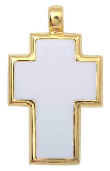 Επίχρυσος σταυρός ασημένιος 925 ASC327 Ασήμι