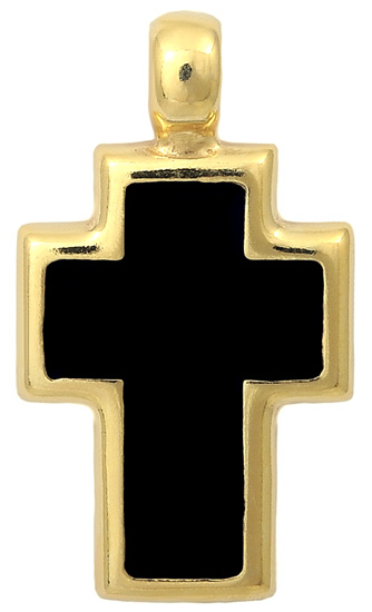 Σταυρός επίχρυσος ασημένιος 925 ASC330 Ασήμι ασημένια κοσμήματα σταυροί